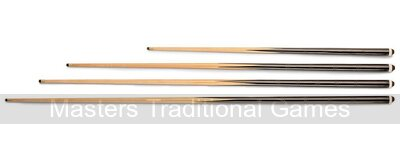 Pair of 57 inch Ramin Cues for Pool (11mm screw-in tip)