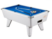 Aluminium Look finish on Supreme Winner Pool table