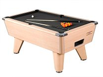 Beech finish on Supreme Winner Pool table