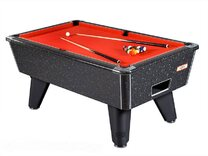 Black Marble Hi-Gloss finish on Supreme Winner Pool table