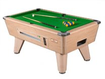 Supreme Winner Pool Table & Accessories - 8ft Electronic Coin-op