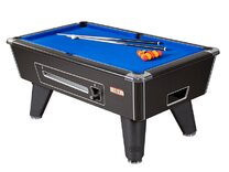 Supreme Winner Pool Table & Accessories - 8ft Mechanical Coin-op