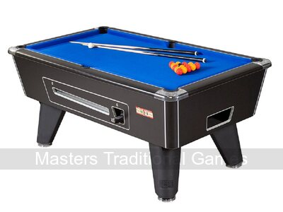 Supreme Winner Pool Table & Accessories - 7ft Mechanical Coin-op