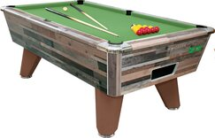 Vintage Festival finish on Supreme Winner Pool table