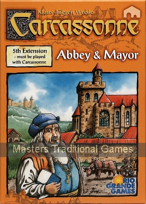 Carcassonne Expansion Pack 5 - Abbey & Mayor