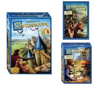 Carcassonne Bundled with Expansions 1 & 2