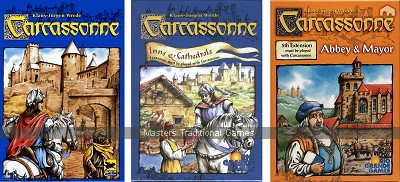 Carcassonne Bundle - Basic set with Expansions 1 & 5