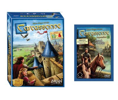 Carcassonne Bundled with Inns & Cathedrals