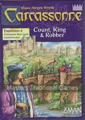 Carcassonne Expansion Pack 6 - Count, King and Robber