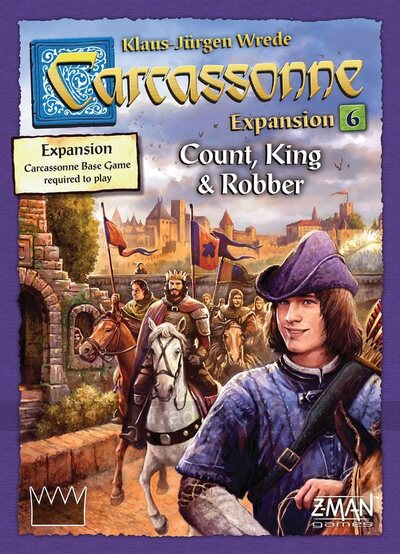 Carcassonne Exp 6 - Count, King and Robber