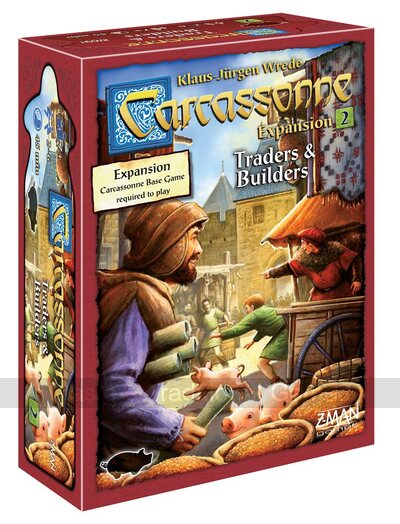 Carcassonne Expansion 2 - Traders & Builders