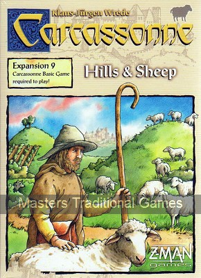 Carcassonne Expansion Pack 9 - Hills and Sheep