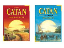 Catan Main Game With Seafarers Expansion