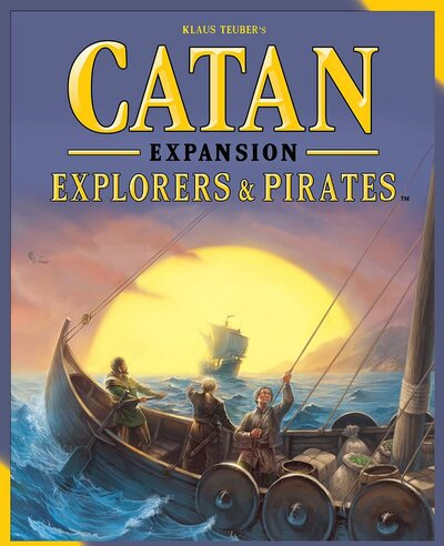 Catan Expansion Pack - Explorers and Pirates (3 - 4 player, 2015 Edition)