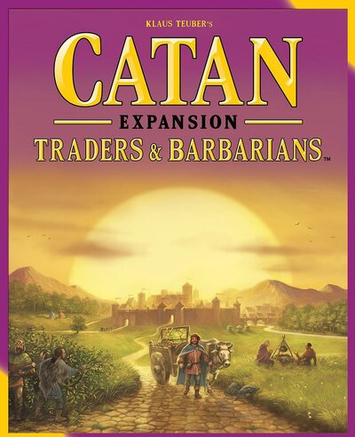 Catan Expansion Pack - Traders and Barbarians (3 - 4 Player, 2015 Edition)
