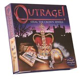 Outrage! Board Game - Steal the Crown Jewels