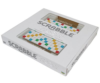 Scrabble - the glass edition