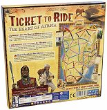 Ticket to Ride - The Heart of Africa Map Expansion