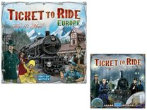 Ticket to Ride Bundle - European Base Game with UK Expansion
