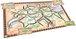 Ticket to Ride: India & Switzerland Map Pack Expansion