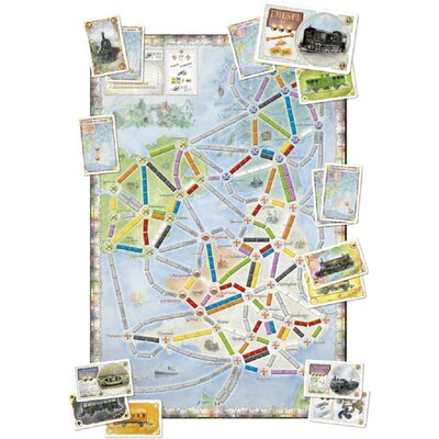 Ticket to Ride - UK (Expansion - requires base game)