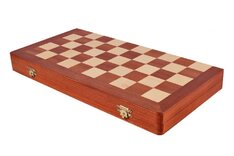 10 x 10 International Draughts / Checkers Folding Set (40cm)