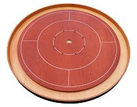 Masters Crokinole Tournament Board - Cherry & Beech (incl hanging kit)