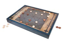 Alquerque - ancient draughts/checkers game