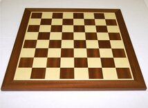 10 x 10 Draughts Board (8 x 8 chess on reverse) - 48cm