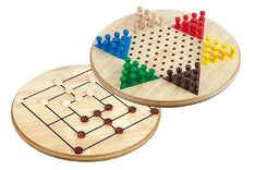 Chinese Checkers & Nine Men's Morris 2 In 1