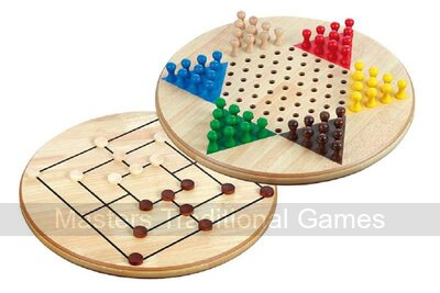 Chinese Checkers & Nine Men�s Morris 2 In 1