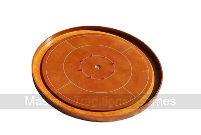 Masters Crokinole Tournament Board - Steamed Beech