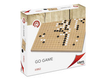 Go Set by Cayro - Wooden Board, Plastic Stones & Plastic Bowls