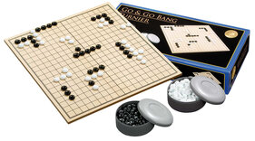 Go & Go Bang Tournament Set with Folding Board