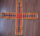 Cloth Pachisi Game