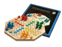 Ludo - Large Wooden Board