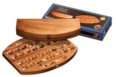 Four Rank Mancala (Bao, Hus, Omweso) - travel version