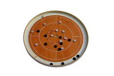 Masters Mini Crokinole board - Steamed Beech Finish