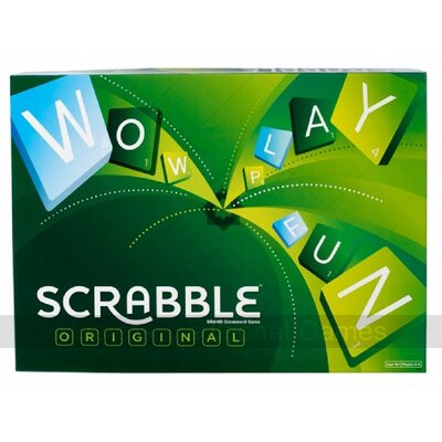 Scrabble (standard - plastic tiles & racks, English version)