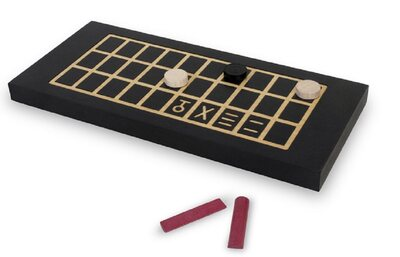 Ancient Egyptian Senet game (black)