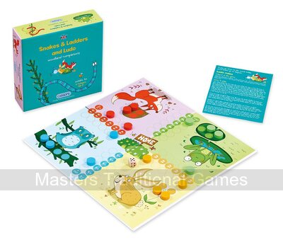 Snakes & Ladders and Ludo - woodland companions