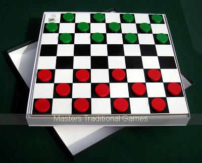 Large Snakes & Ladders with Draughts game