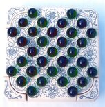 Solitaire Box with marbles