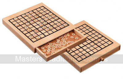 Philos Wooden Sudoku in case