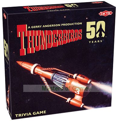 Thunderbirds Classic 50th Anniversary 1,000 Question Trivia Game