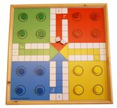 Wooden Uckers Game
