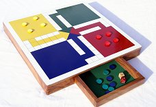 Hand Made Uckers board