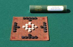 Welsh Tawlbwrdd - replica Tafl game