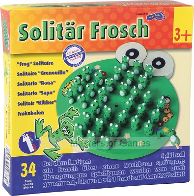 Children's Frog Solitaire