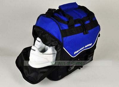 Drakes Pride Pro Midi Bowls Bag - Black and Blue